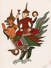 Beikthano (Vishnu) Nat