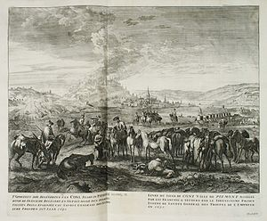 The siege of Cuneo