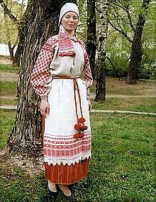 28d4c155ff03 Белорусский национальный костюм — Википедия