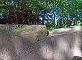 Benchmark, Sefton Park perimeter wall 10.jpg