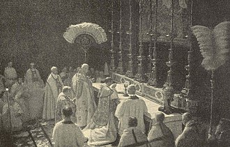 Pope Benedict XV - Coronation of Pope Benedict XV in 1914