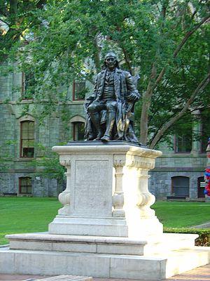 Benjamin Franklin (Boyle) - Image: Benjamin Franklin Campus
