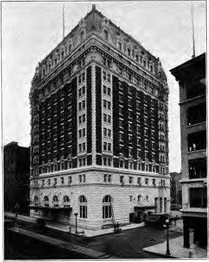 Benson Hotel - The Benson Hotel in the 1920s