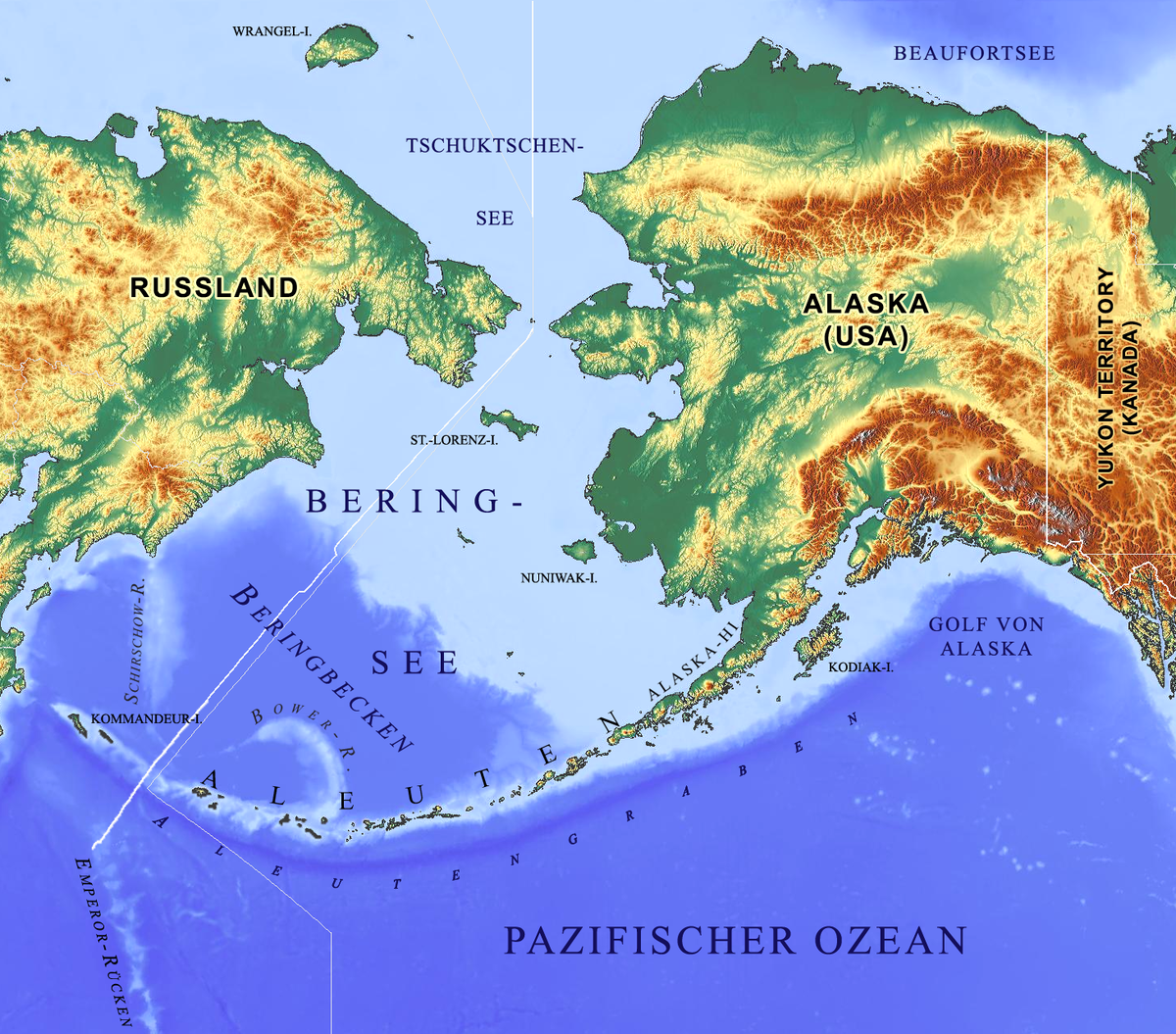 St Lawrence Islands Physical Features