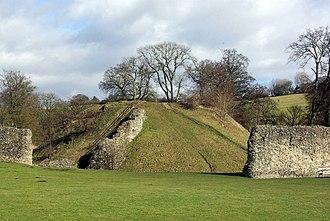 Berkhamsted Castle - Castle motte