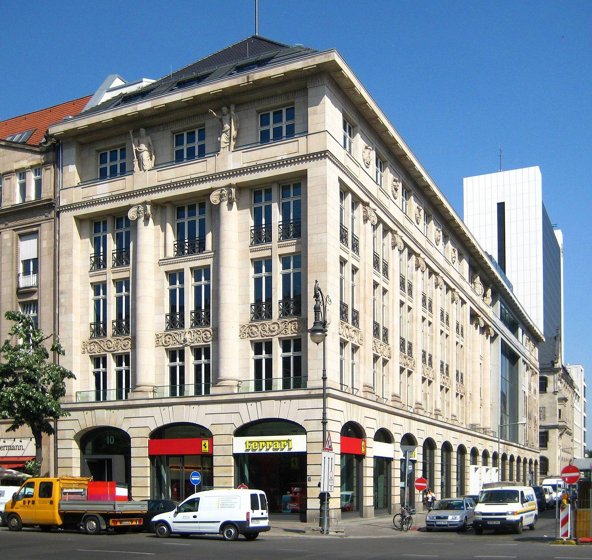 Geschichte Hotel De Rome Berlin