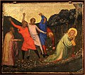 Bernardo daddi, storie di santo stefano, 1337-38 (musei vaticani) 01 lapidazione.jpg