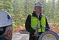 Bert Stedman speaks at Katlian Bay Road dedication.jpg