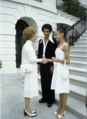 Betty Ford Sandra Fortune-Green Sylvester Campbell at the White House 1976.png