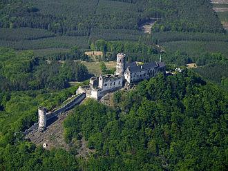 Bezděz Castle - Bezděz Castle from above.