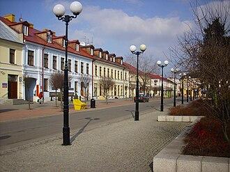 Biała Podlaska - Buildings near the main square