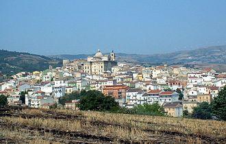 Biccari - Image: Biccari Borgo