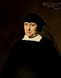 Portret Beatrix Gibels van Linschoten