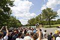 Bilderberg protest 2012 at Marriot Westfields Chantilly VA. (7332436880).jpg