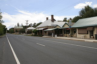 Binda Town in New South Wales, Australia