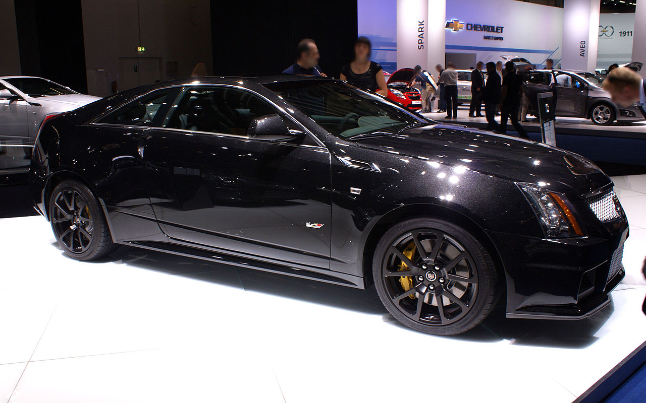 file black cadillac cts v coupe fr iaa 2011 jpg wikimedia commons. Black Bedroom Furniture Sets. Home Design Ideas