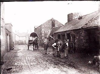 Bagillt - Image: Blacksmiths at Bagillt, 1908
