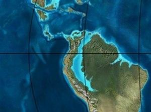 Bogotá Formation - Image: Blakey 050Ma COL