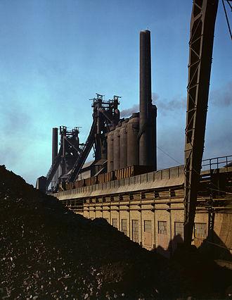 Etna, Pennsylvania - Carnegie-Illinois steel mill