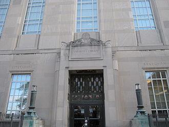Carl Blegen - Blegen Library at the University of Cincinnati