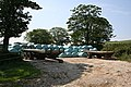 Blue Bales and Trailers - geograph.org.uk - 186126.jpg