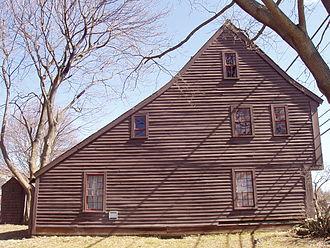 Boardman House (Saugus, Massachusetts) - Side view.