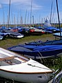 Boat storage at Keyhaven Yacht Club - geograph.org.uk - 503244.jpg