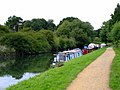 Boats on the River Brent - geograph.org.uk - 2586982.jpg