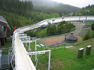 Bobsleigh - Altenberg track, Germany