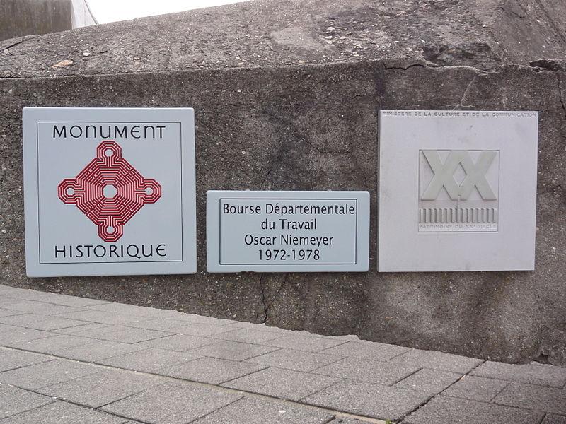 Bobigny, plaquette Bourse départementale de travail