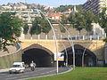 Boca sud del tunel de la Rovira.JPG