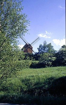 Molino en el Parque Natural Gran Fläming