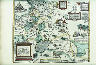Theatrum Orbis Terrarum - Image: Bodleian Libraries, Russiae, Moscoviae et Tartariae descriptio