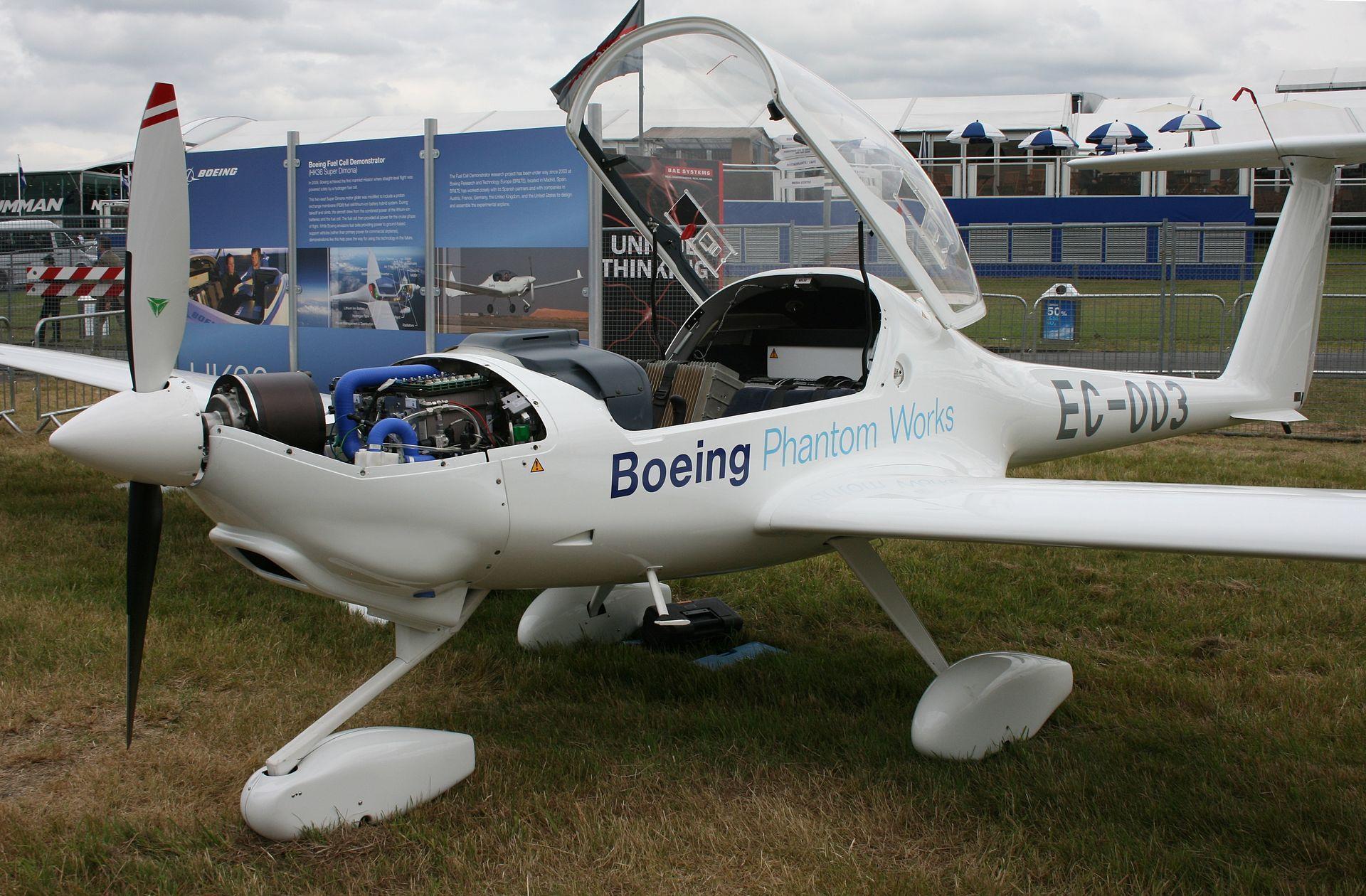 Prototyp für Wasserstoffflugzeug von Boeing