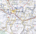 Bojonegoro map from us army map service.png