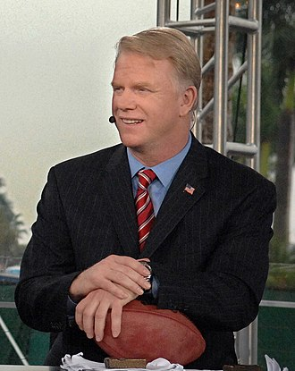 Boomer Esiason - Esiason at The NFL Today pre-game show for Super Bowl XLI (2007)