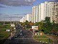 Borisovskiye Prudy Street (Moscow, Brateyevskiy bridge).jpg