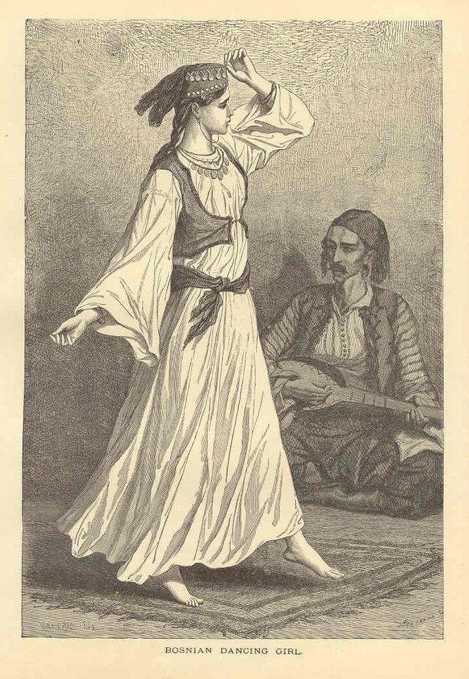Bosniaks. Босняки. Bošnjaci 1869