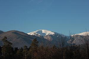 Botev Peak - View of Botev Peak from I-6 road (Bulgaria)