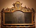 Bottega forse lombarda, specchiera, 1700-50 ca, pioppo.JPG