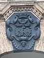 Boxmeer Rijksmonument 10031 Carmelietenklooster, wapen op poort.JPG