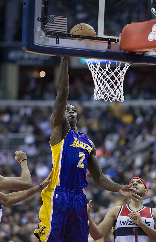 Brandon Bass with Lakers