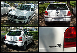 Volkswagen do Brasil - Image: Brazilian 2003 VW Gol 1.6 Total Flex
