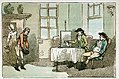 Breakfast at Egham - 'please your Honour, remember your Postboy!' (caricature) RMG PW4931.jpg