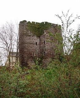 Brecon Castle ruined castle in Brecon, Powys, Wales