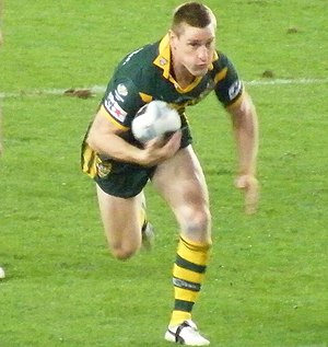 Brent Tate - Tate while playing for Australia in 2008