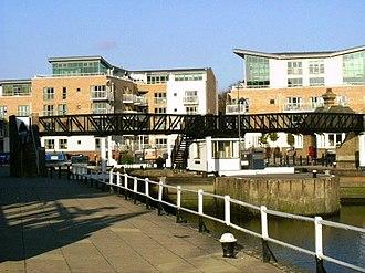 Brentford Dock -  Brentford Dock (the new marina), 6 November 2007(2007-11-06).
