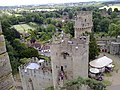 Bridge End, Warwick and the River Avon from Warwick Castle.jpg