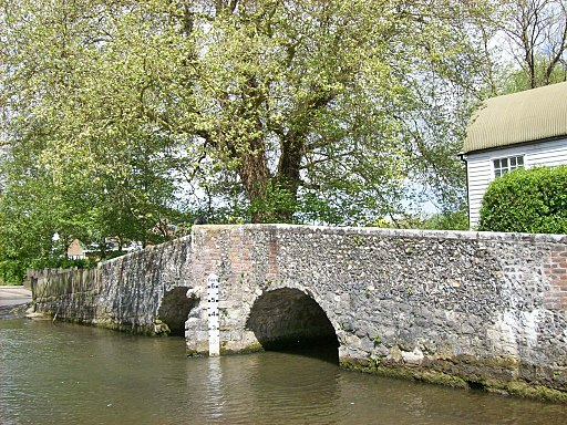 Bridge over Darent at Eynsford