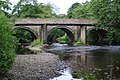 Bridge over river Derwent Grindleford - geograph.org.uk - 2397242.jpg